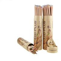 马可6100-24/36/48CT 48色彩色铅笔/填色笔/彩铅 木笔杆桶装送卷笔器