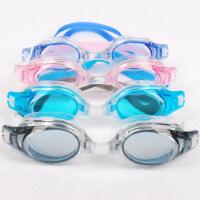 新款男女户外泳镜 平光防水游泳眼镜 成人透明泳镜 时尚防晒泳镜