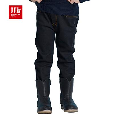 jjlkids季季乐小女孩牛仔裤2016新款女童春秋长裤宽松休闲裤童裤GQK63010专柜同款