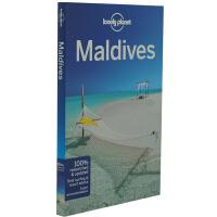 英文原版旅游书籍 Lonely Planet Maldives 9 孤独星球 LP 马尔代夫旅行指南