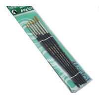 马利圆锋尼龙勾线笔 马利 G1206 勾线笔 6支套装