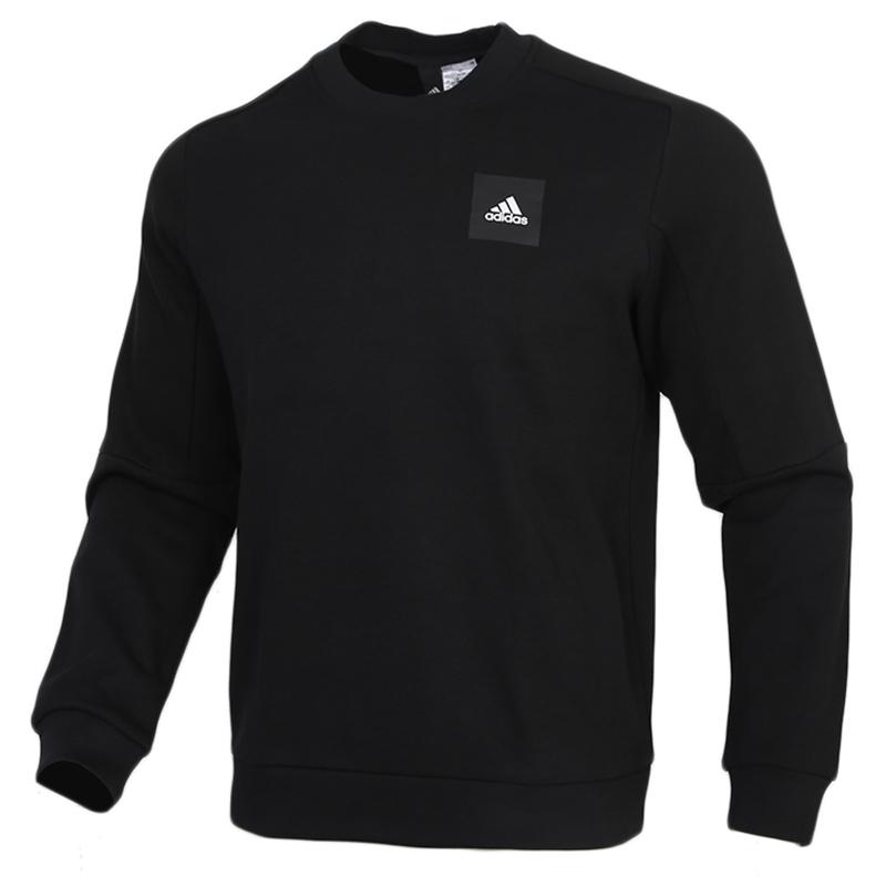 Adidas阿迪达斯男装运动服休闲圆领卫衣套头衫FU0043 运动服休闲圆领卫衣套头衫