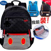 迪士尼双肩包男童小学生男生4-6六四年级3-5男孩休闲书包儿童背包