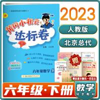 新版2020春黄冈小状元达标卷数学六年级下册人教版RJ同步六年级数学课本试卷