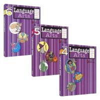Harcourt Family Learning - Language Arts Grade 4-6哈考特家庭辅导英语语