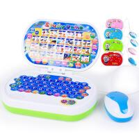 新款儿童带鼠标多功能益智早教学习机婴幼儿点读智能玩具电脑