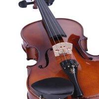 凤灵小提琴 手工实木考级初学者 儿童成人乐器提琴 赠小提琴教程教材书,塑料肩托,备用琴弦,四管调音器、琴,琴盒,弓,松