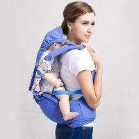 【当当自营】萌宝(Cutebaby)多功能双肩婴儿背带腰凳 蓝色