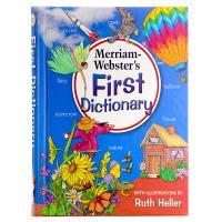 英文原版 Merriam Webster's First Dictionary 韦氏初级儿童图片字典 适合5-7岁宝宝