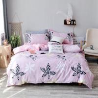 全棉斜纹四件套 纯棉床单被套 冬季加厚床上用品1.5/1.8/2.0