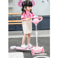 折叠脚踩双踏板滑板车儿童2-3-6-8岁小孩蛙式剪刀滑滑车溜溜车