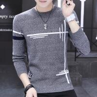 男士毛衣秋冬季韩版潮流长袖青少年圆领针织打底衫学生秋装毛线衣