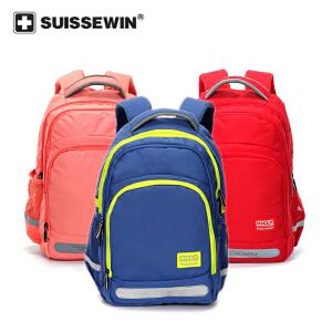 【SUISSEWIN旗舰店 支持礼品卡支付】小学生品牌书包中学生双肩包儿童户外运动背包学生旅游背包