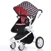 【当当自营】gb好孩子婴儿推车高景观宝宝手推车避震折叠可躺可坐婴儿车GB08-H