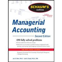 Schaum's Outline of Managerial Accounting 9780071762526