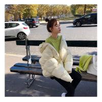 网红同款棉衣服女2018新款冬装外套蓬蓬学生韩版短款ins加厚面包
