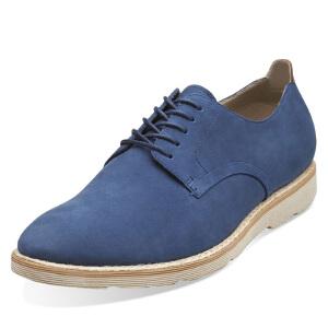 Clarks/其乐男鞋2017秋冬新款商务休闲系带皮鞋Gambeson Walk专柜正品直邮