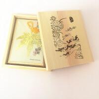 金属书签中国风复古创意精美学生老师小礼品奖品叶脉书签