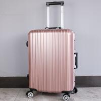 简约时尚旅行箱万向轮拉杆箱2018新款行李箱密码箱韩版女