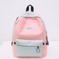 【支持礼品卡支付】帆布日韩版潮大容量双肩旅行背包运动书包中学生女包双肩休闲背包 AQ-XFX379