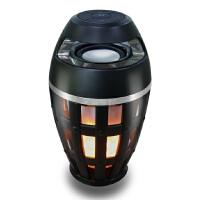无线蓝牙音箱创意智能火焰灯氛围灯迷你低音炮家用无损音响