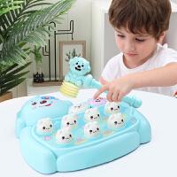 打地鼠玩具 幼儿敲打儿童益智玩具