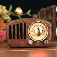 蓝牙质小音箱 收音机复古便携式迷你小音响家用户外重低音