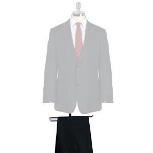 雅戈尔男商务正装藏蓝色半毛衬羊毛套装西服 西裤 TJ28394-21DG