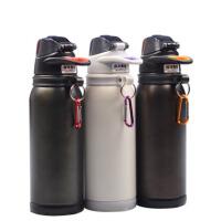 运动水壶水杯 大容量户外保温杯 不锈钢保温壶学生旅行防漏杯子