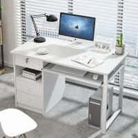 【1件3折 领券】环保耐磨简易款钢木电脑桌升级A 小户型易拆装装饰书架壁挂柜