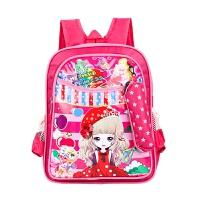 可爱男女孩幼儿园儿童卡通书包3-6-12岁小学生1-3-6年级双肩背包