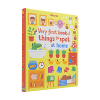 Usborne Very First Book Of Things To Spot 幼儿英语启蒙认知找找乐 英文原版图
