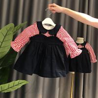 冬装女宝宝连衣裙1-3岁女童婴儿公主裙