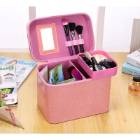 厂家韩国双层手提化妆箱 便携化妆包防水旅行收纳包化妆工具箱