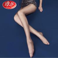5双浪莎丝袜超薄款防勾丝夏季脚尖透明连裤袜肉色丝袜打底袜子女