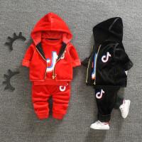 男童秋冬款三件套装婴儿童卫衣宝宝外套