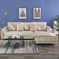 【人气】沙发垫子布艺防滑欧式毛绒坐垫冬季沙发套罩全包全盖四季通用定做