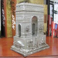 法国建筑凯旋门树脂模型摆件欧式复古旅游工艺品书房办公室装饰品