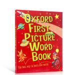 进口英文原版绘本 牛津词典Oxford First Picture Word Book 儿童启蒙早教益智单词图画平装大