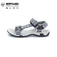 诺诗兰春夏户外男士休闲运动凉鞋防滑耐磨沙滩鞋FS065204