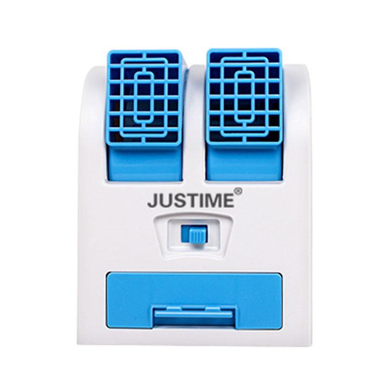 迷你USB小型电风扇空调无叶制冷办公室学生宿舍便携式电池