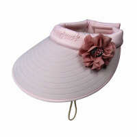 户外女夏天太阳帽可折叠遮阳帽大沿防晒沙滩帽