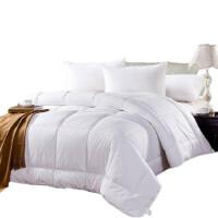 宾馆酒店床上用品夏被空调被白色全棉春秋被子被芯冬被 宾馆