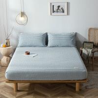 水洗棉床笠单件纯棉床罩全棉席梦思床垫保护套子1.5m/1.8米