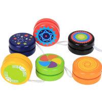 儿童溜溜球 木质YOYO球 悠悠球玩具 幼儿园小学生小朋友礼物