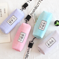 笔袋韩国创意文具盒女可爱小清新简约铅笔袋初中大学生小学生公主