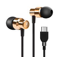 typc-c耳机 小米8耳机6x入耳式type-c手机mix2s带麦typc全民k歌oppo fin 官方标配