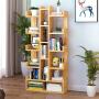 书架落地简易书柜简约现代学生用小书架经济型置物架省空间收纳柜