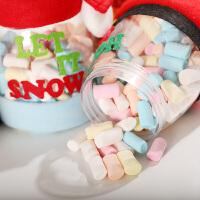 圣诞节糖果篮糖果罐圣诞幼儿园儿童小礼品礼物盒平安夜老人袋子Z