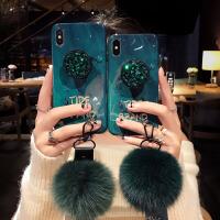 水�@毛球�炖Kxs max�O果x手�C��xr硅�z7plus潮牌iphone8新款6s女 6/6S 4.7寸